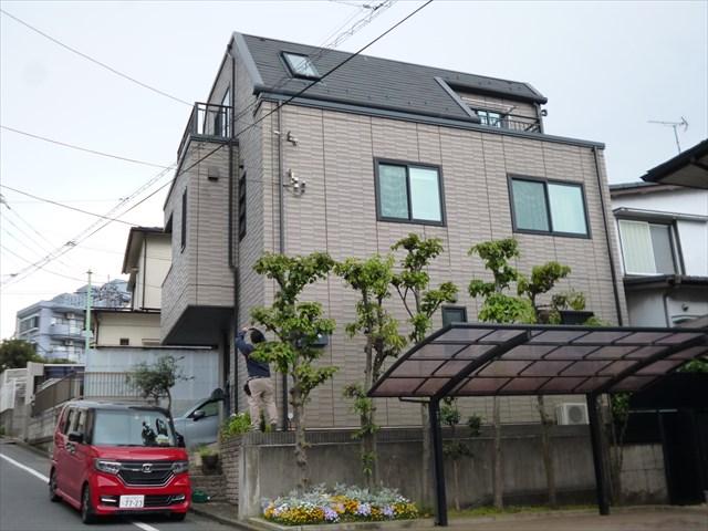 大田区H様邸屋根・外壁塗装工事のサムネイル画像1