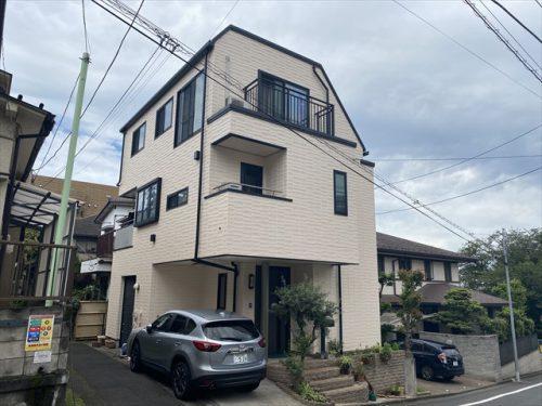 大田区H様邸屋根・外壁塗装工事のサムネイル