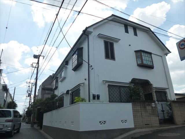 大田区H様邸屋根・外壁塗装