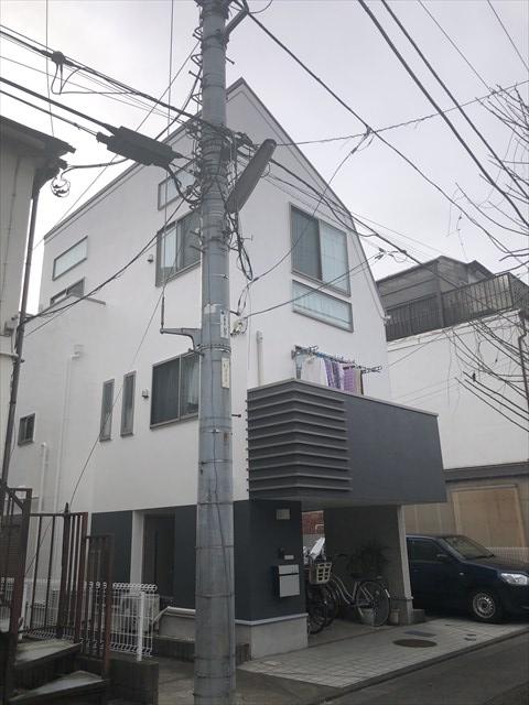 大田区T様邸外壁・屋根工事