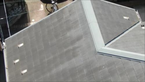 屋根スレート瓦のメンテナンスについての画像