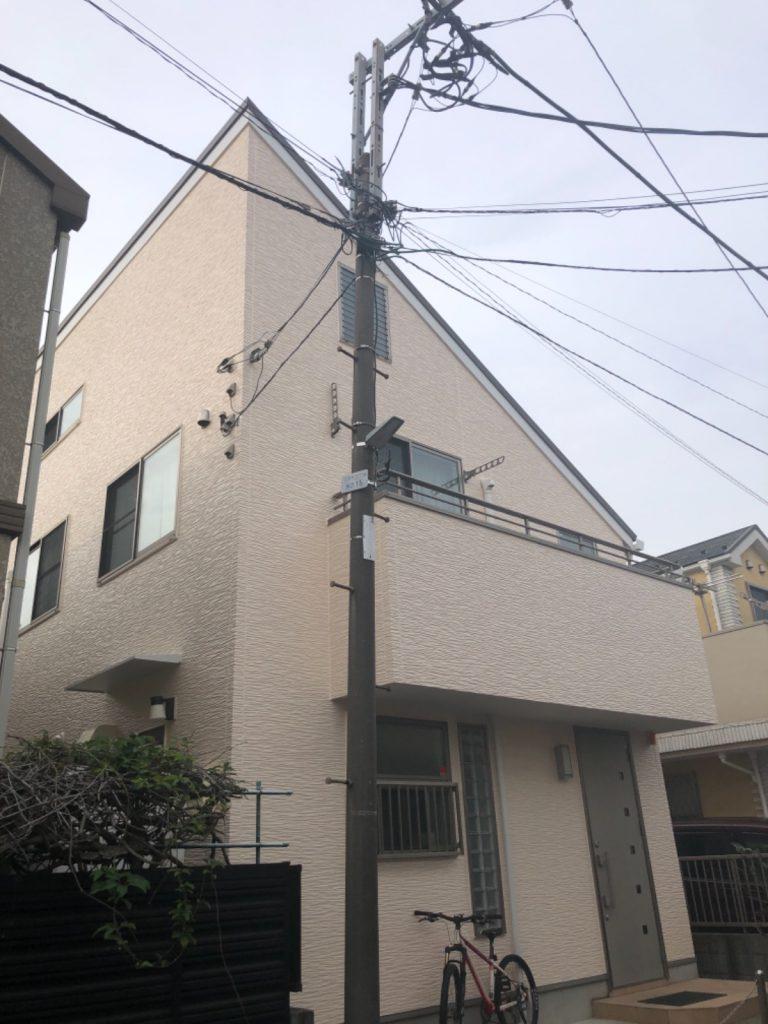 大田区A様邸外壁・屋根塗装工事
