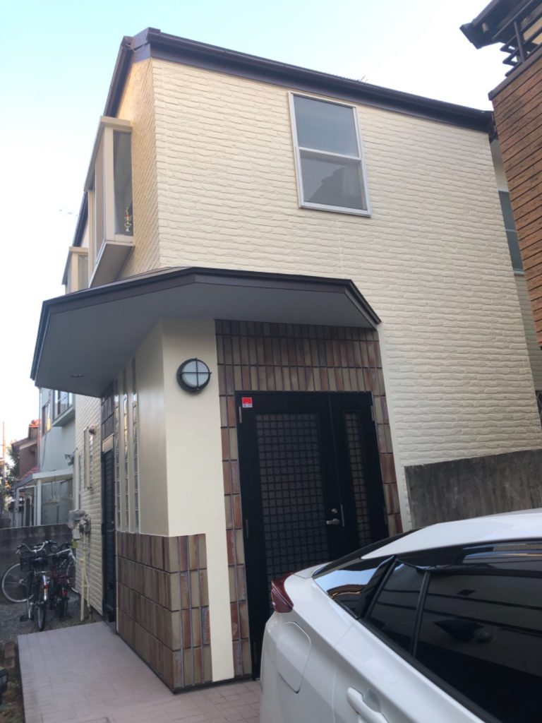 大田区M様邸屋根カバー工法・外壁塗装工事
