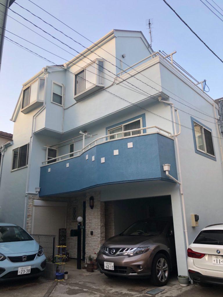 大田区K様邸屋根・外壁塗装工事