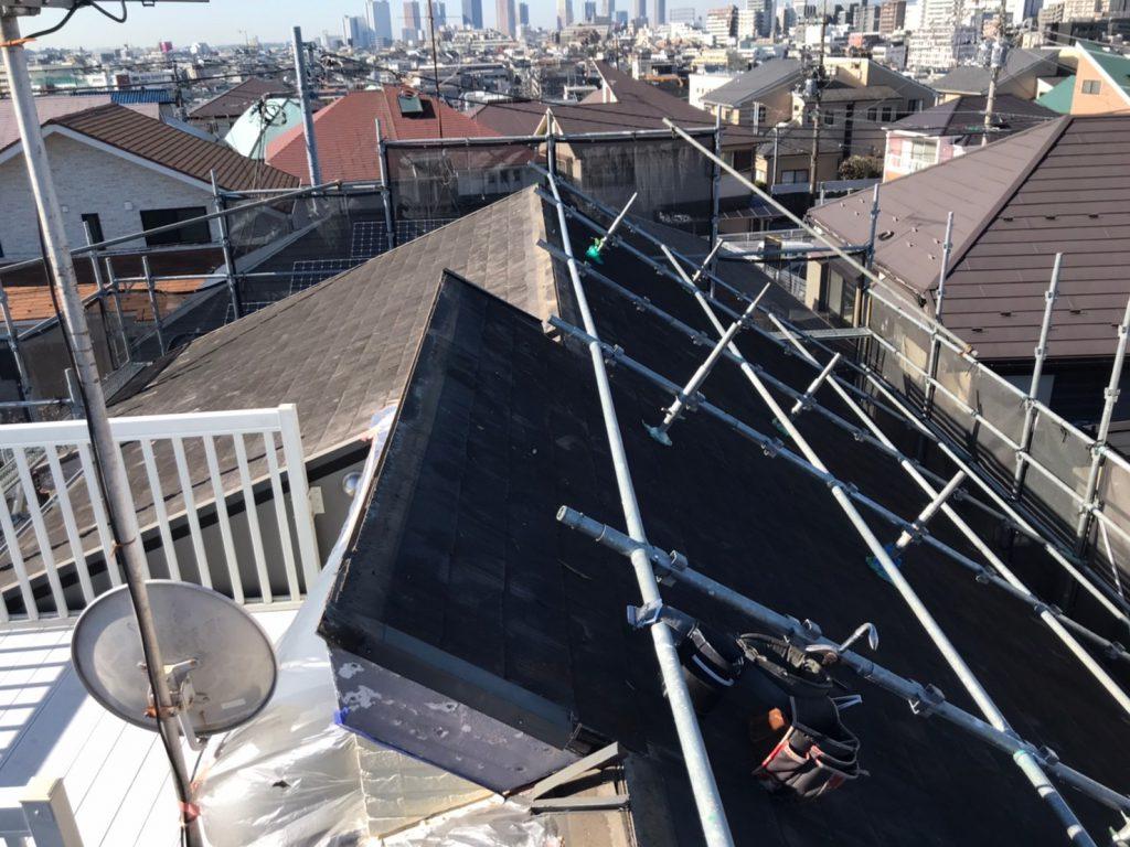 大田区M様邸屋根カバー工法・外壁塗装工事のサムネイル画像7