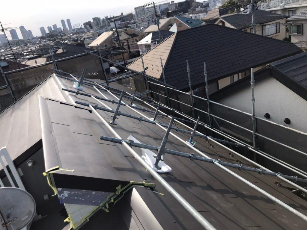 大田区M様邸屋根カバー工法・外壁塗装工事のサムネイル画像8