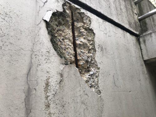 コンクリート爆裂について。の画像