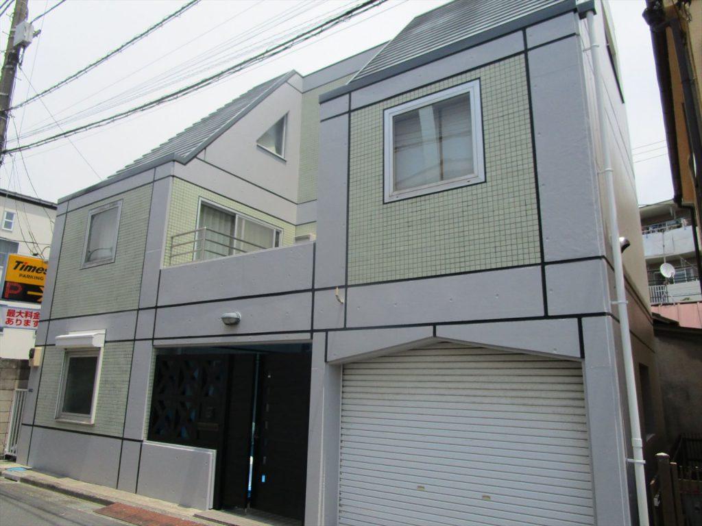 品川区H様邸屋根・外壁塗装工事