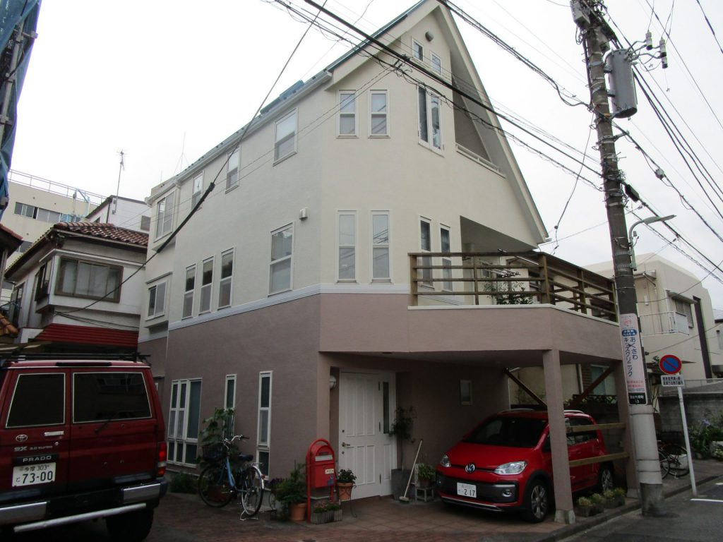 大田区I様邸屋根・外壁塗装工事
