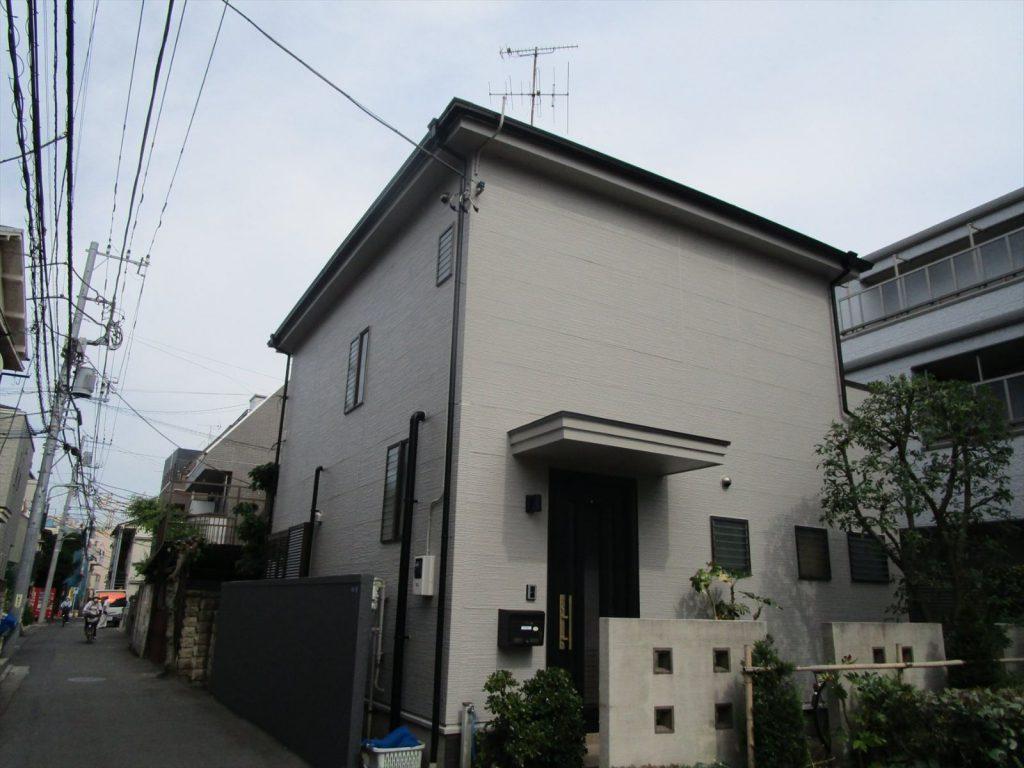 大田区O様邸屋根・外壁塗装工事