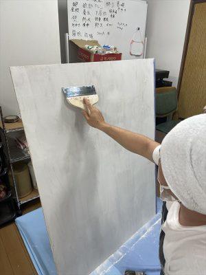 1級塗装技能士を目指しての画像
