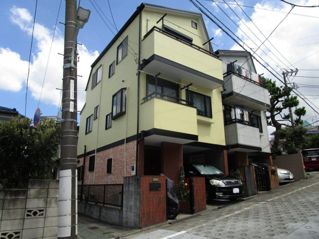 大田区T様邸屋根・外壁塗装工事
