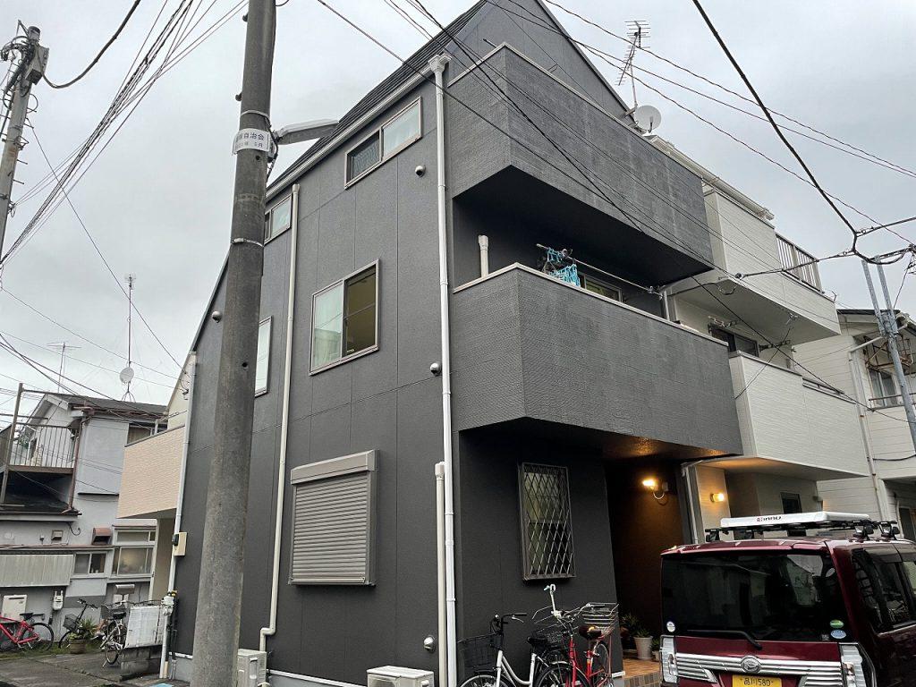 大田区Y様邸屋根カバー工法・外壁塗装工事
