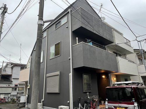 大田区Y様邸屋根カバー工法・外壁塗装工事のサムネイル