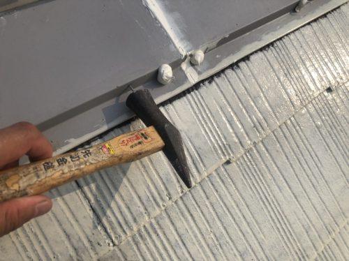 屋根棟板金について。の画像
