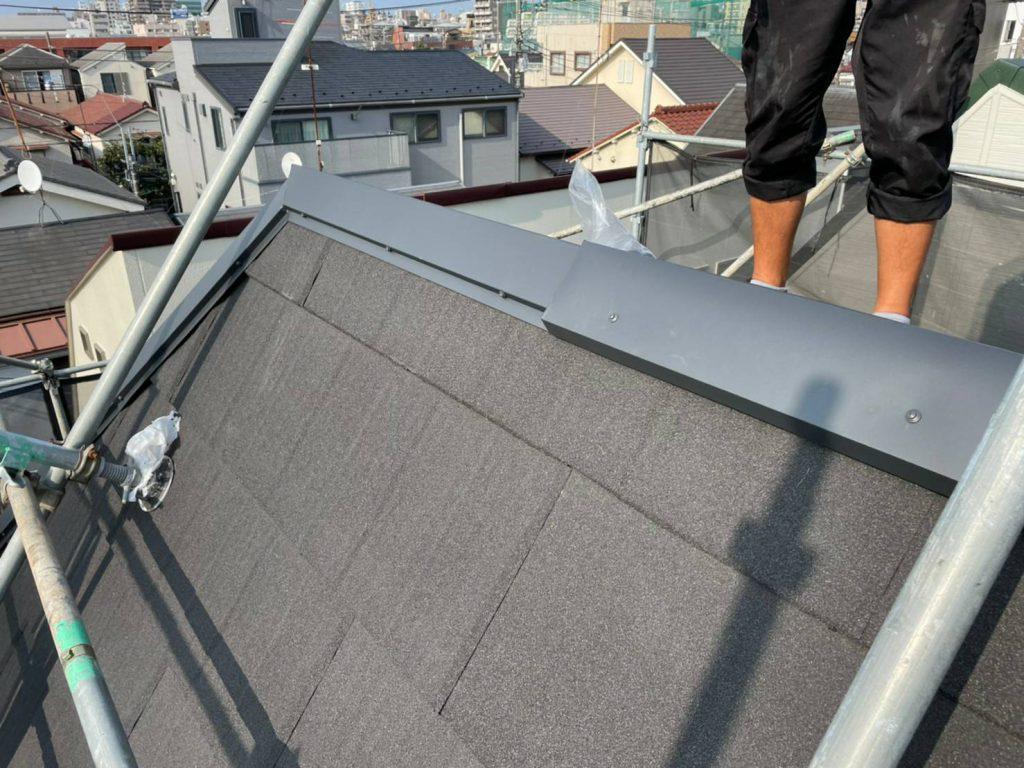 大田区Y様邸屋根カバー工法・外壁塗装工事のサムネイル画像5