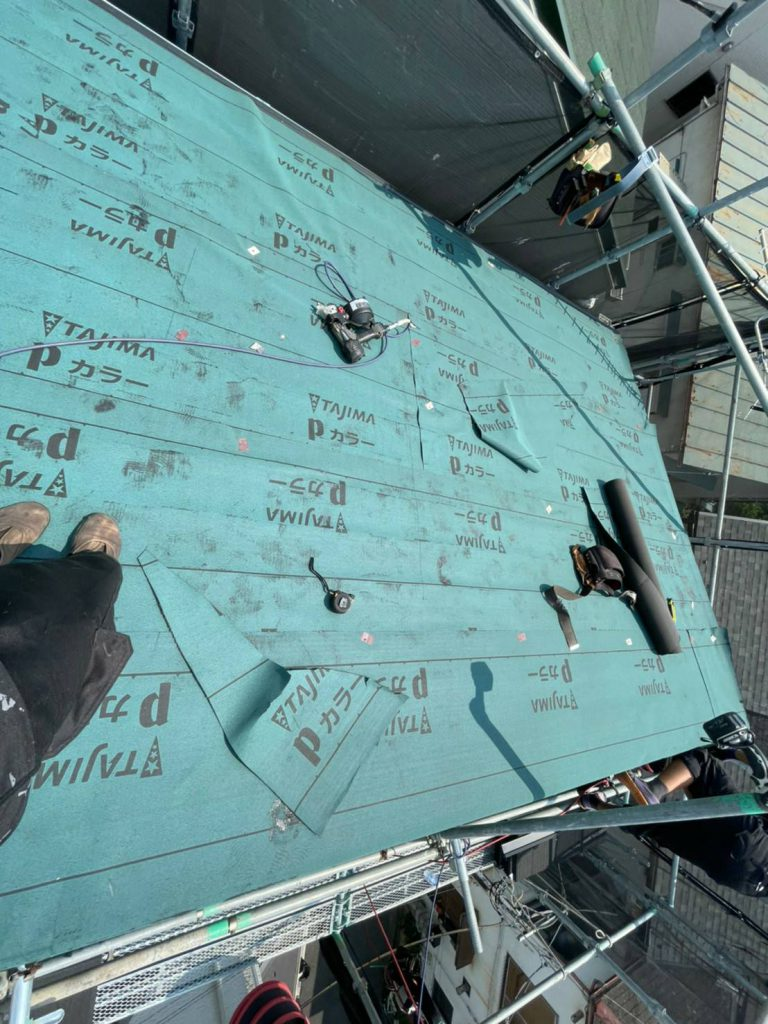 大田区Y様邸屋根カバー工法・外壁塗装工事のサムネイル画像4